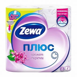 Туалетная Бумага 'ZEWA+ 'Сирень 1уп*24па...