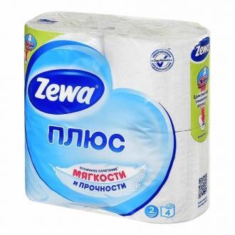 Туалетная Бумага 'ZEWA+ 'Белая 1уп*24пач...