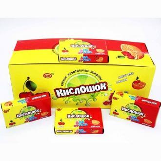 Жевательная конфета  'Кислошок ' два фру...