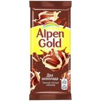 Альпен Гольд  85гх21шт Два шоколада