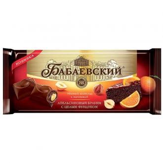 Бабаевский шоколад  165г*9шт апельсиновы...