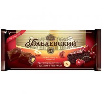 Бабаевский шоколад  165г*9шт вишневый бр...