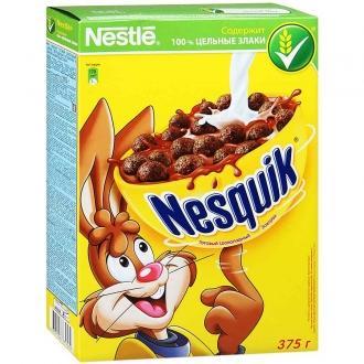 Несквик 375г*5  Шоколадные шарики