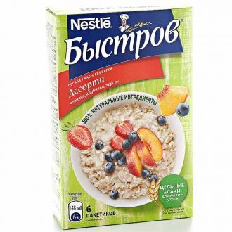 Каша  'Быстров ' овсяная ассорти 240*8 (...