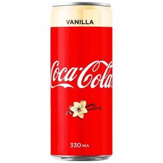 Кока-Кола 0,33л*12 ж/б Ванила