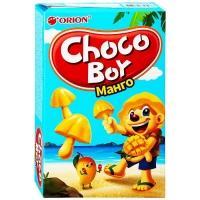 Чоко Бой Манго 45 г*30 печенье грибочки