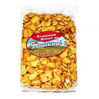 Крекер 'Кузнецкий ' 400г*13 Рыбка
