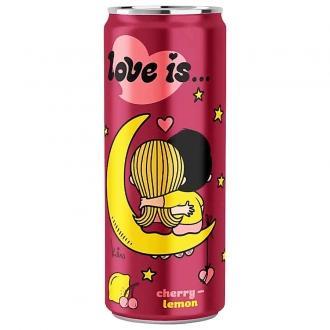 Газ. напиток LOVE IS 0.33мл*12 вишня и л...