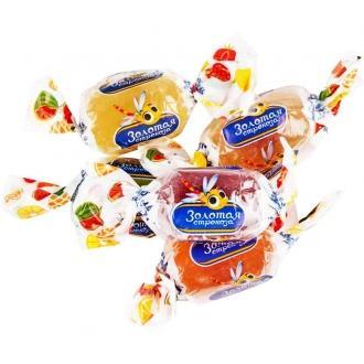 Золотая стрекоза Яшкино конфета 500гр*12