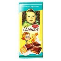 Алёнка 87гр*10шт Карамель, молочная нач. и печенье