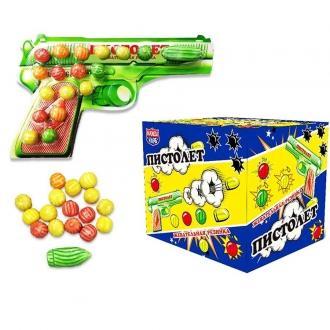 Жевательная резинка  'Пистолет ' 14гр*24...