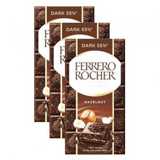 Ферреро-Роше шоколад 90гр*8шт*(2бл) Темн...