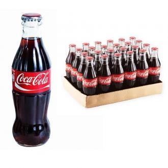 Кока-Кола  0,25л*24 Стекло/Казахстан/