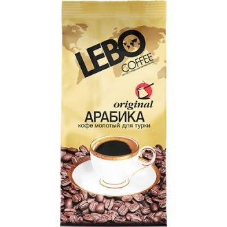 Лебо кофе  200г*25 Молотый  для турки Ор...
