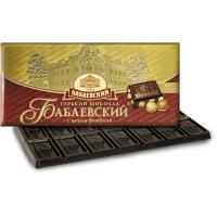 Бабаевский шоколад  200гр*14 с ФУНДУКОМ горький
