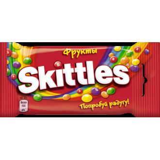 """Скитлс""""Фрукты""""38гх12шт*(12бл) - драже в сахарной глазури"""