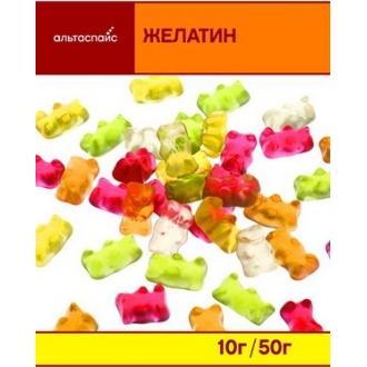 "Желатин""АльтаСпайс"" 50г*25"