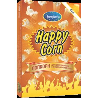 ПопКорн для СВЧ 'Happy Corn ' сырный 100...