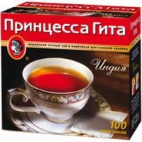 Принцесса  Гита чай 100 пак*2г*(16) черный с /яр.