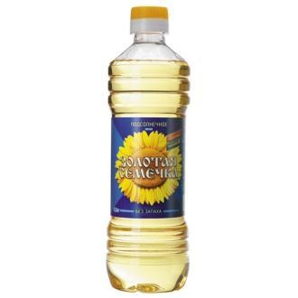 "Масло""Золотая семечка""подсол.раф. 0,5 л*24"