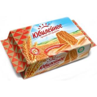 Юбилейное  печенье 313г*22 Витаминное традиционное