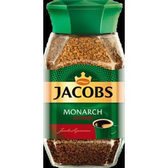 Якобс Монарх  кофе 95 г*12 Интенс
