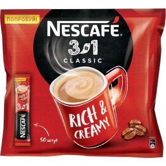 Нескафе 3в1 'Классик ' 14,5г*20 х20 кофе...