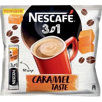 Нескафе 3в1 'Карамель '14,5г*20 х20 кофе...