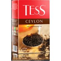 Тесс Чай 100г*15 Цейлон чёрный/цейлонский/высокогорный - листовой