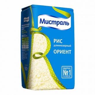Рис длинный 'Мистраль 'Ориент 900г*12