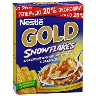 Голд Сноу Флекс готовый завтрак 300г*16 ...