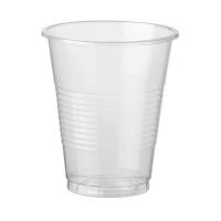 Стакан  прозрачный 200 мл (Интеко-Альт Пласт) 1*200*(20бл)