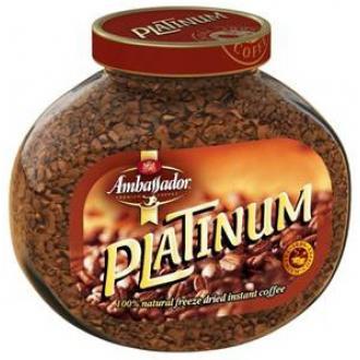 Элит Платинум кофе субл. 47.5г*12 Амбасадор