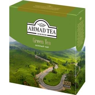 Ахмад 100 пак*(8) Зеленый чай