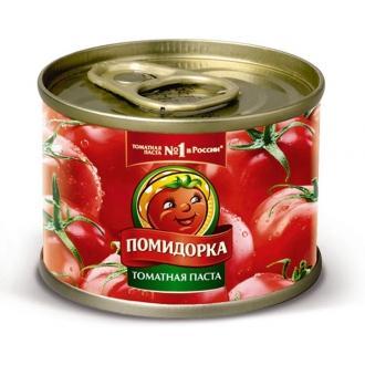 Томатная паста  'Помидорка ' ж/б ключ 70...