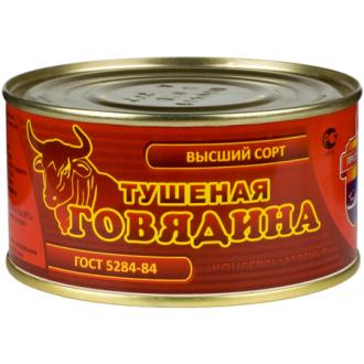 """Говядина тушеная в/с """"Барко"""" ж/б (ГОСТ) 325гр*36"""