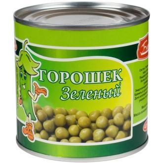 """Горошек Зеленый """"Барко"""" в/с 400г*12 ж/б"""