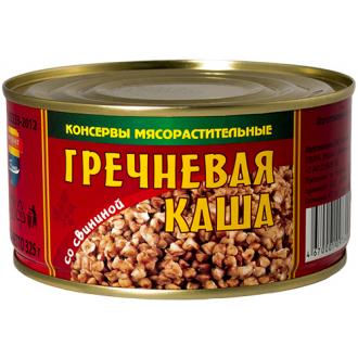 """Каша Гречневая со свининой """"Барко"""" 325г*36"""