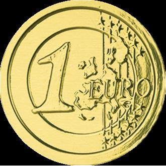 Шоко Монеты 6г*120*(4бл) Евро /МД/
