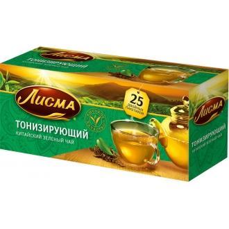 Лисма чай Зеленый тонизирующий 25 пак*1,...