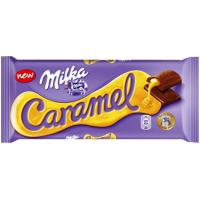 Милка шоколад 90гх20шт. Карамель