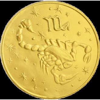 Шоко Медали 25г*24*(4бл) Знаки Зодиака/МД/