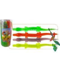 Жидкая конфета/карамель 'Торнадо Крокодильчик 'фруктовый  78г*24*(6бан)