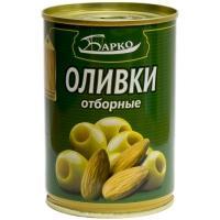 Оливки с миндалем  'Барко ' 280гр*12