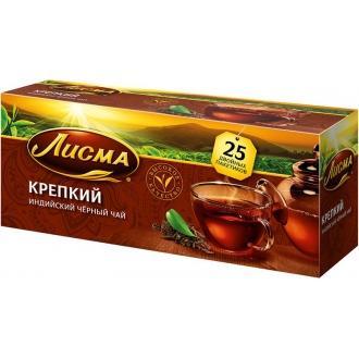 Лисма чай Крепкий  25 пак*2 г*(27) Индия
