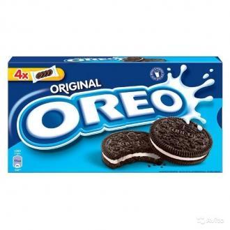 Орео печенье 228г*12 со вкусом шоколада