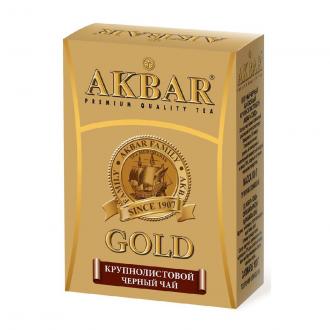 Акбар чай  100г*24 Золотой
