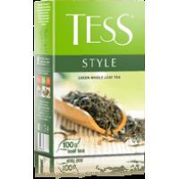 Тесс Чай 100г*14 Стайл зеленый/китайский - листовой