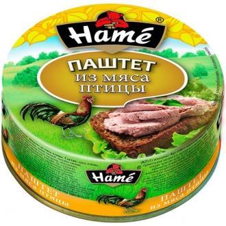 Паштет Hame 117г*10 Мясо птицы