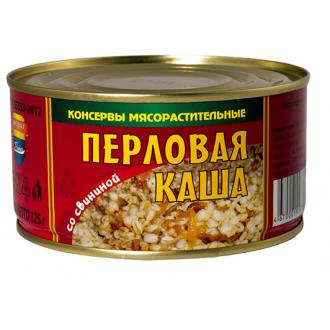 """Каша Перловая со свининой """"Барко"""" 325г*36"""